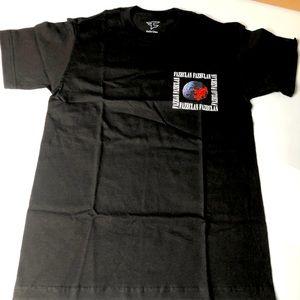 Faze Clan Men Black Sz Small 2 Sided T-Shirt Top